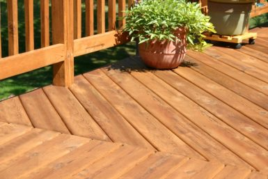 Wood Deck Beckemeyer IL