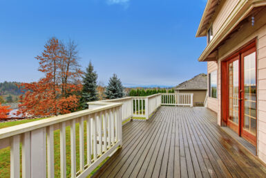 How to Clean a Wood Deck
